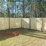 Shadow Box Fence Design