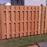 Shadow Box Fence Spacing