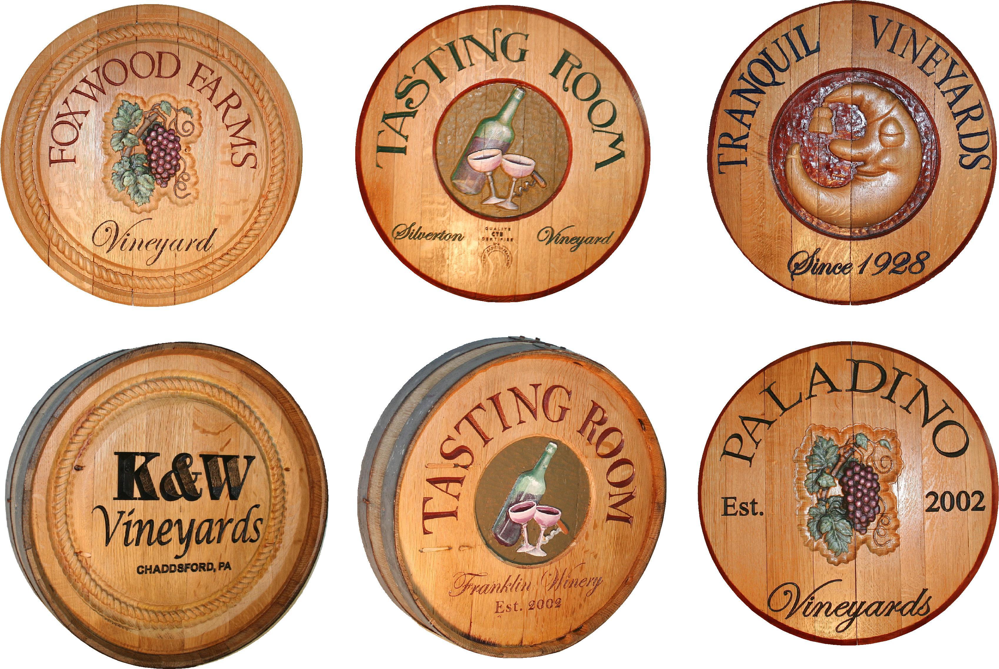 Vintage Wine Decor