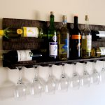 wall hanging wine racks