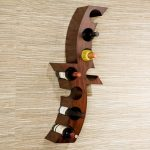 Wall Wine Rack Wood