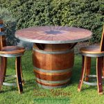 Wine Barrel Outdoor Furniture