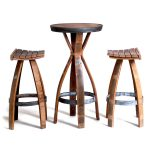 Wine Barrel Stools