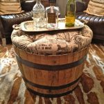 wine barrel table tops