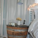 Wine Barrel Tables With Glass Top