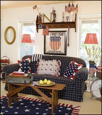 Americana decorating