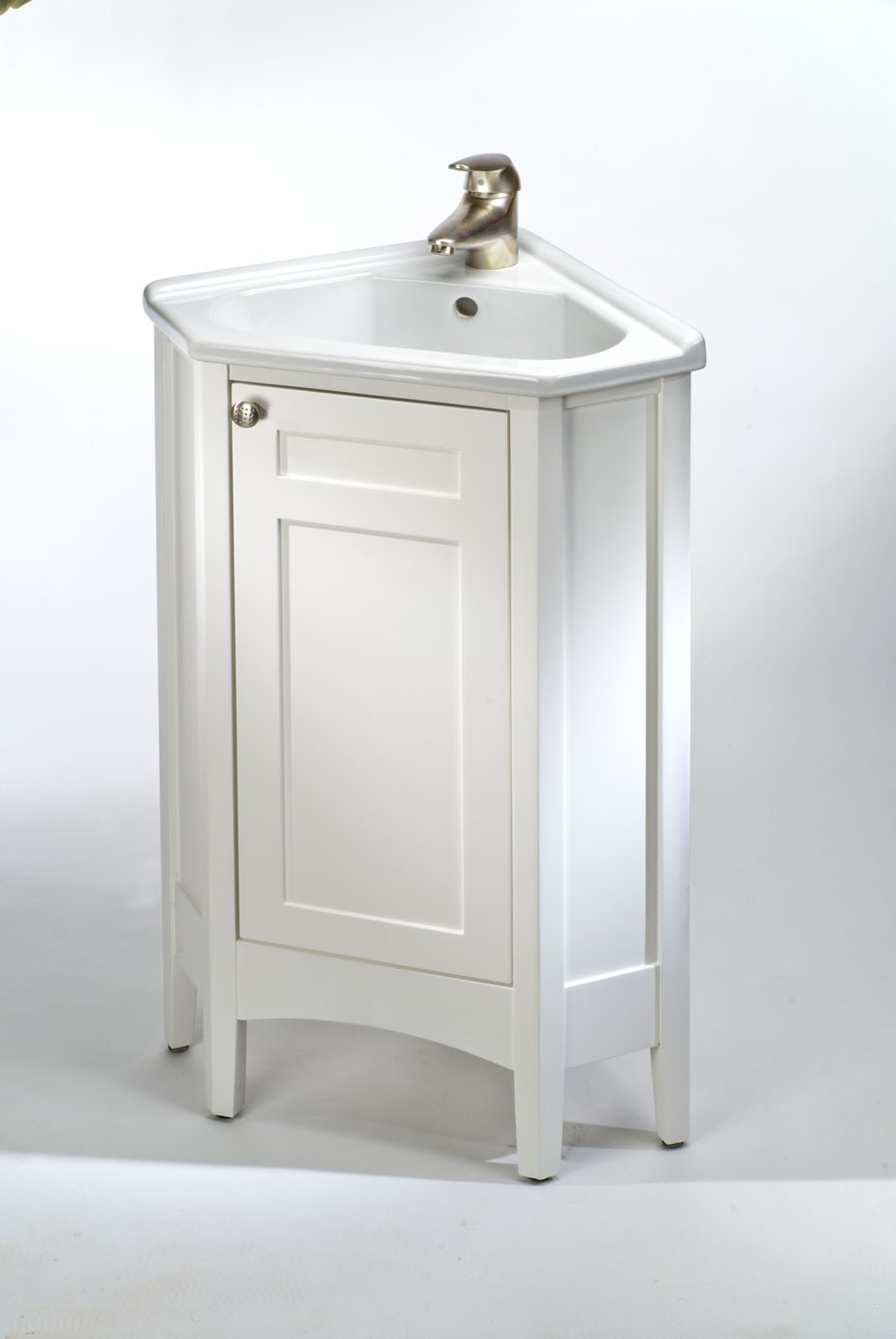 Use a Corner Bathroom Vanity For Small Bathooms