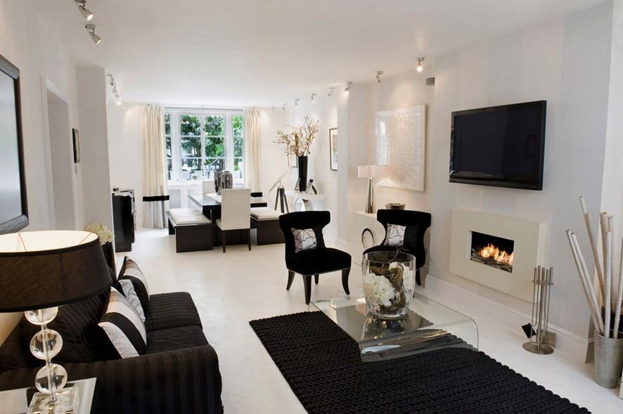 Black white home decor1