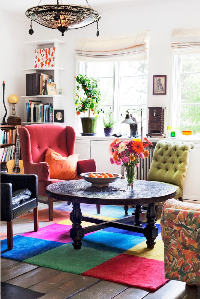 Bohemian chic home decor
