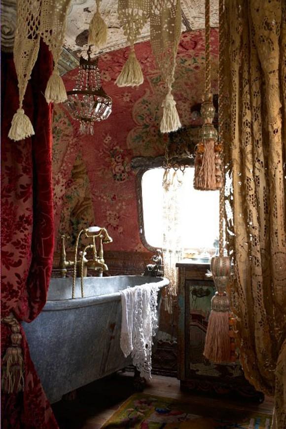 Bohemian home furnishings