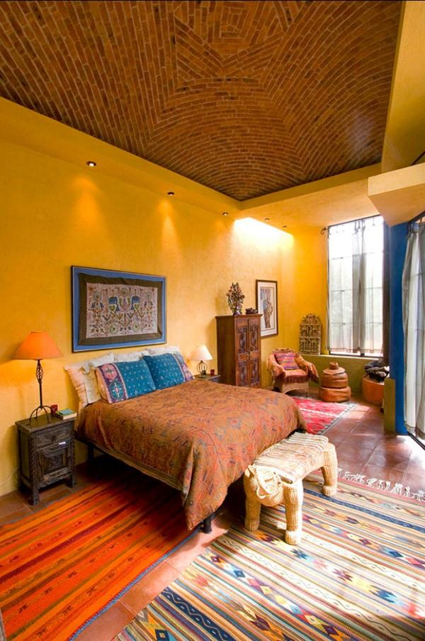 Bohemian style home decor