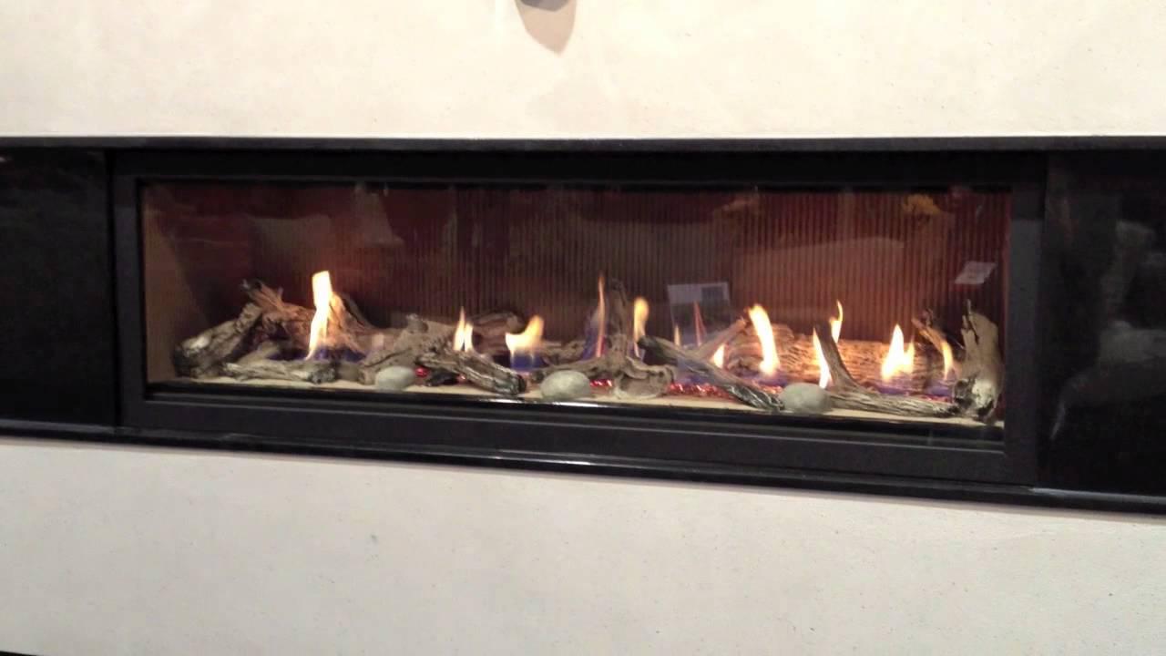 Ceramic fireplace logs