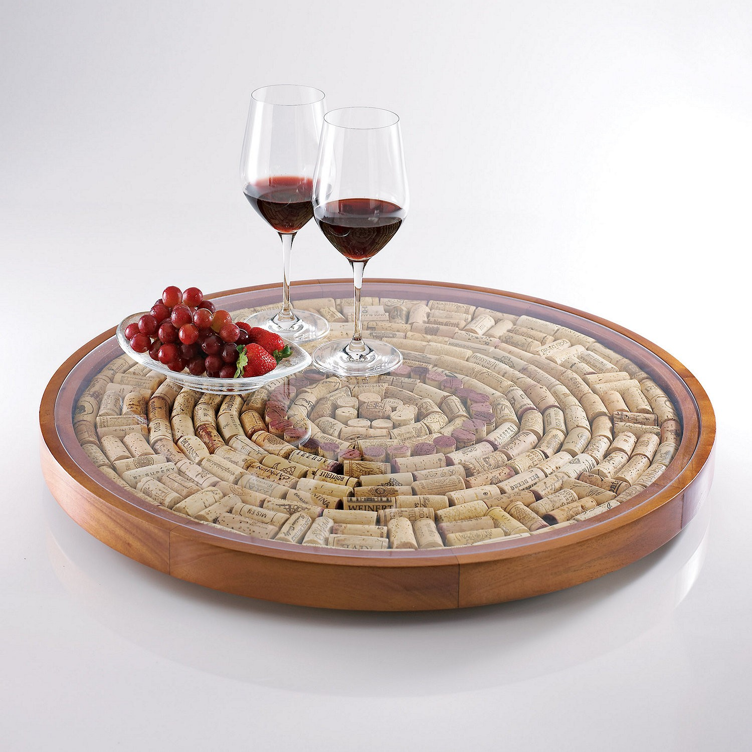 Cork Lazy Susan
