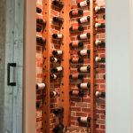 Corner Wine Racks Wood