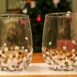 decorative wine glasses ideas