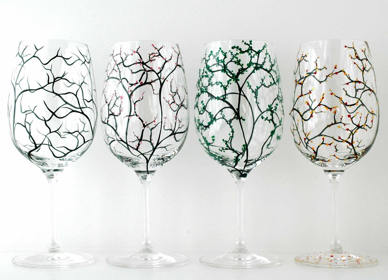 Diy Decorative Wine Glasses