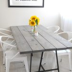Diy Modern Dining Room Table
