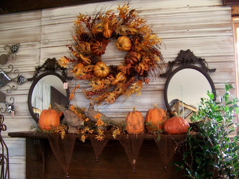 Fall home decoration