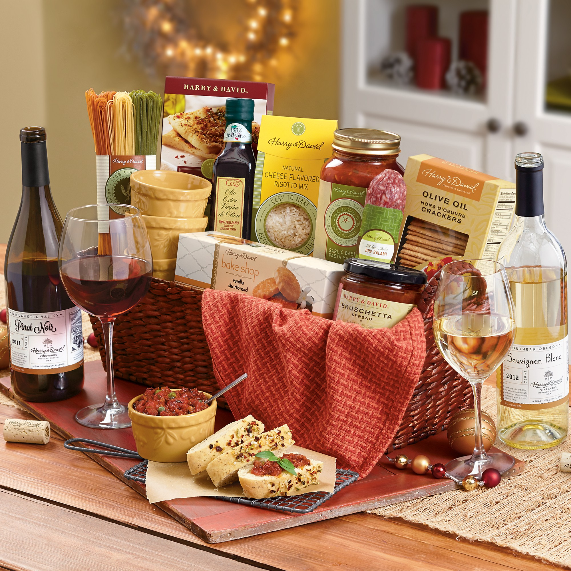 Gift Wine Baskets