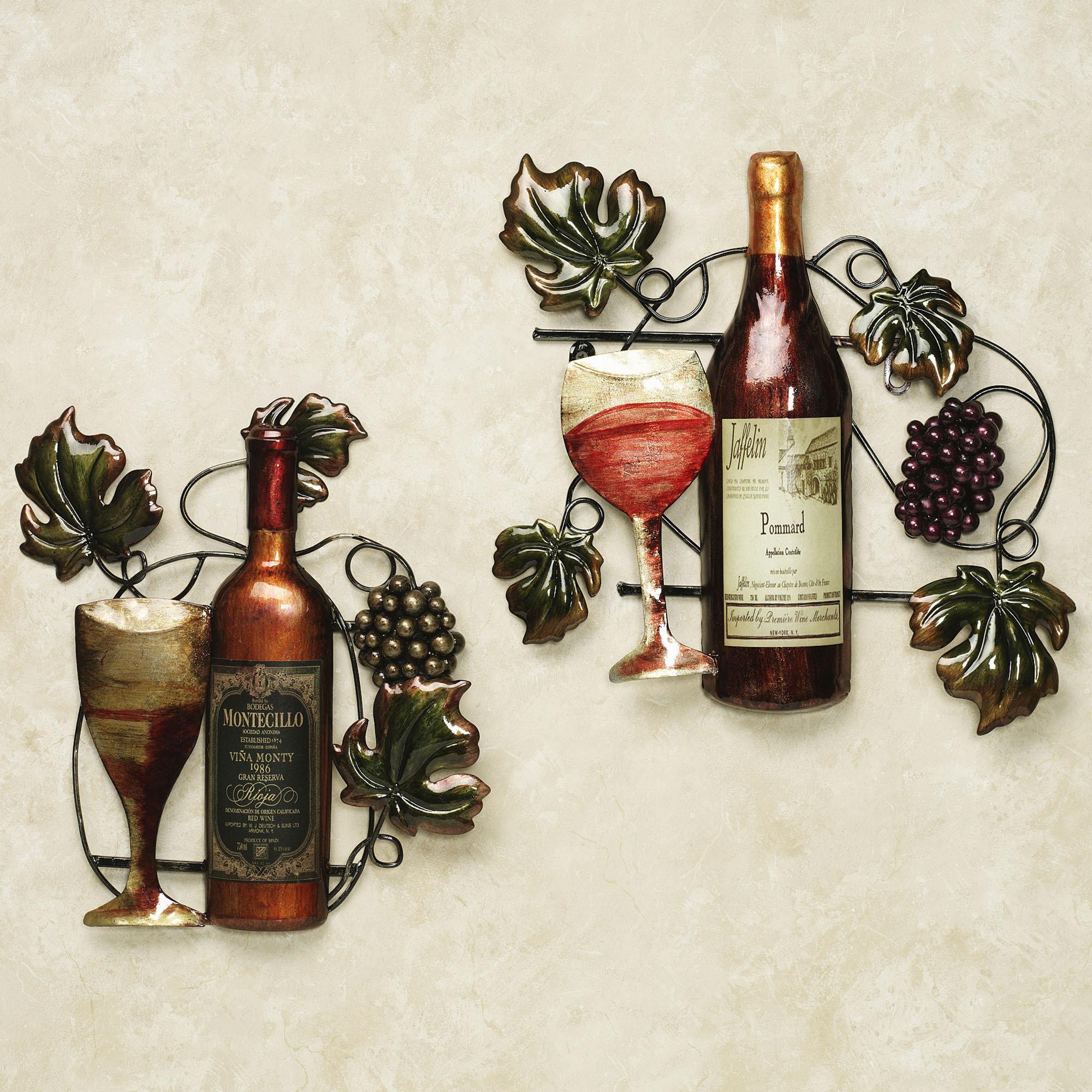 Grape And Wine Decor