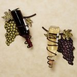 grapes and wine decor