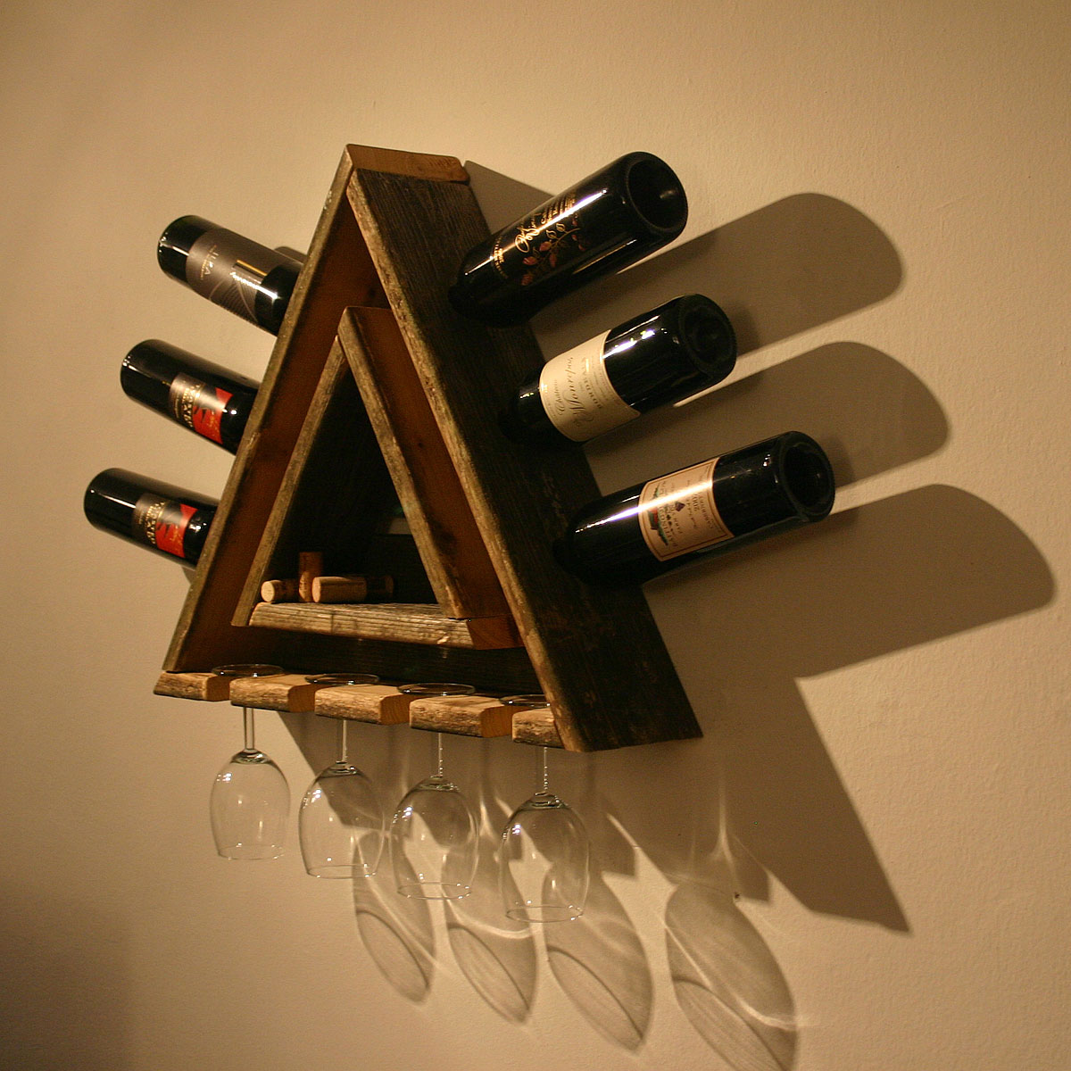 How To Build A Small Wine Rack