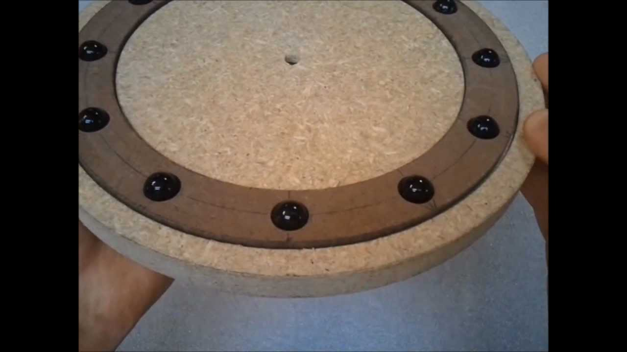 How To Make Wine Barrel Lazy Susan