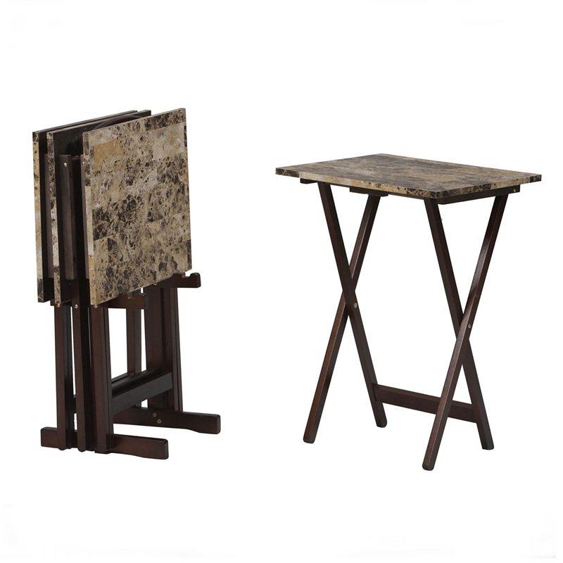 Linon space saver table