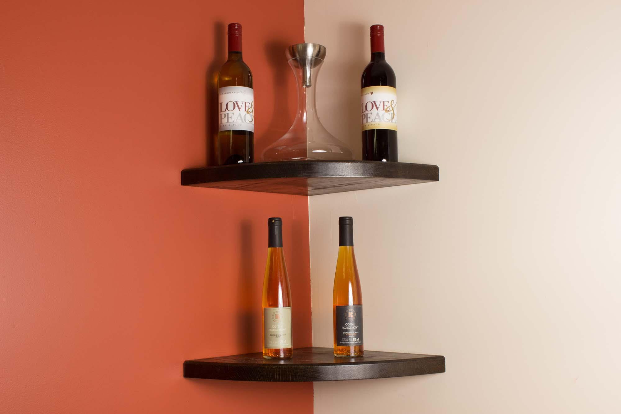 10 Ideas For A Corner Wine Rack A Creative Mom