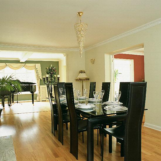 Modern dining room sets for 8