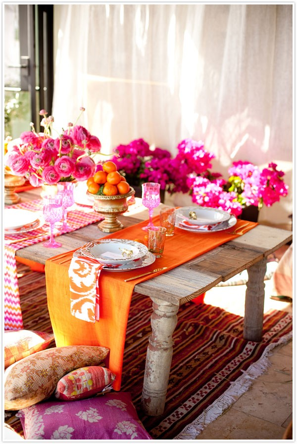 Moroccan style furniture