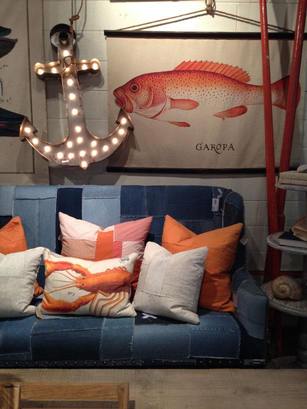 Nautical theme home decor
