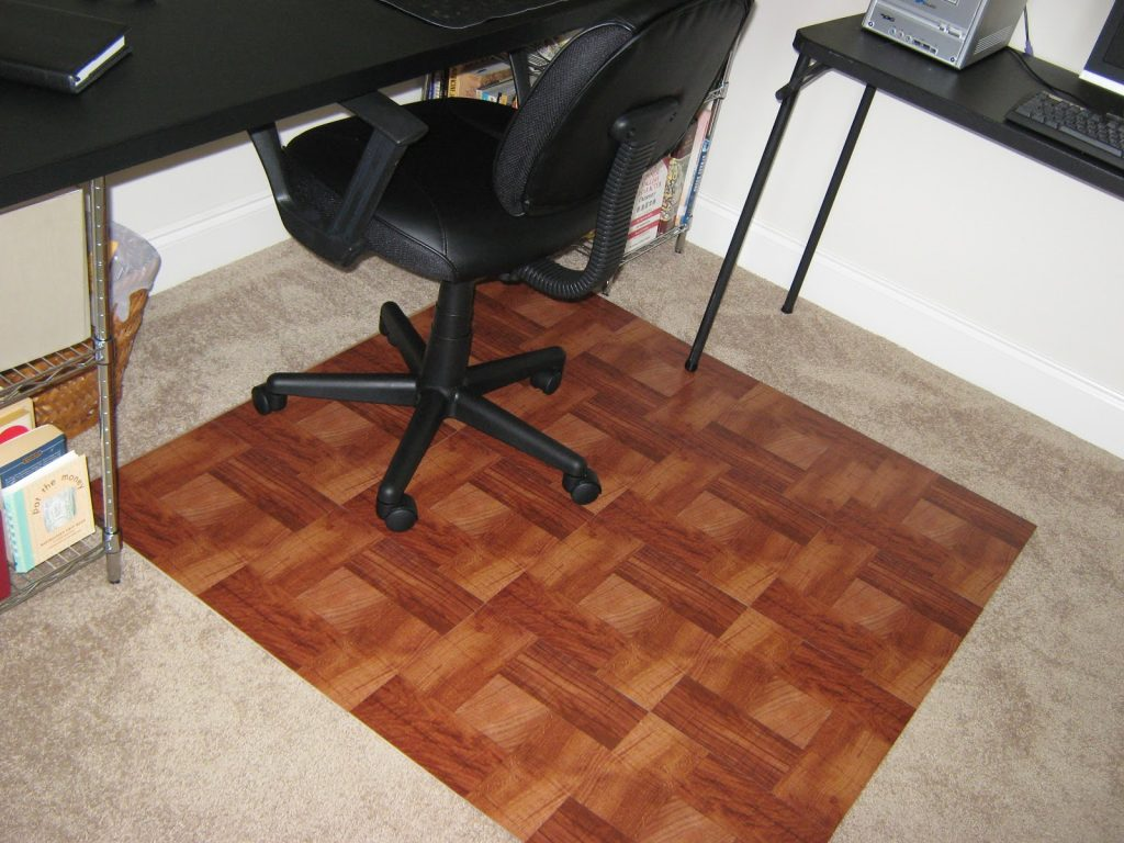 Why Use Office Chair Mats A Creative Mom