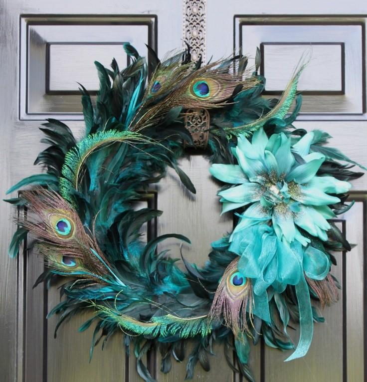 Peacock home decor items