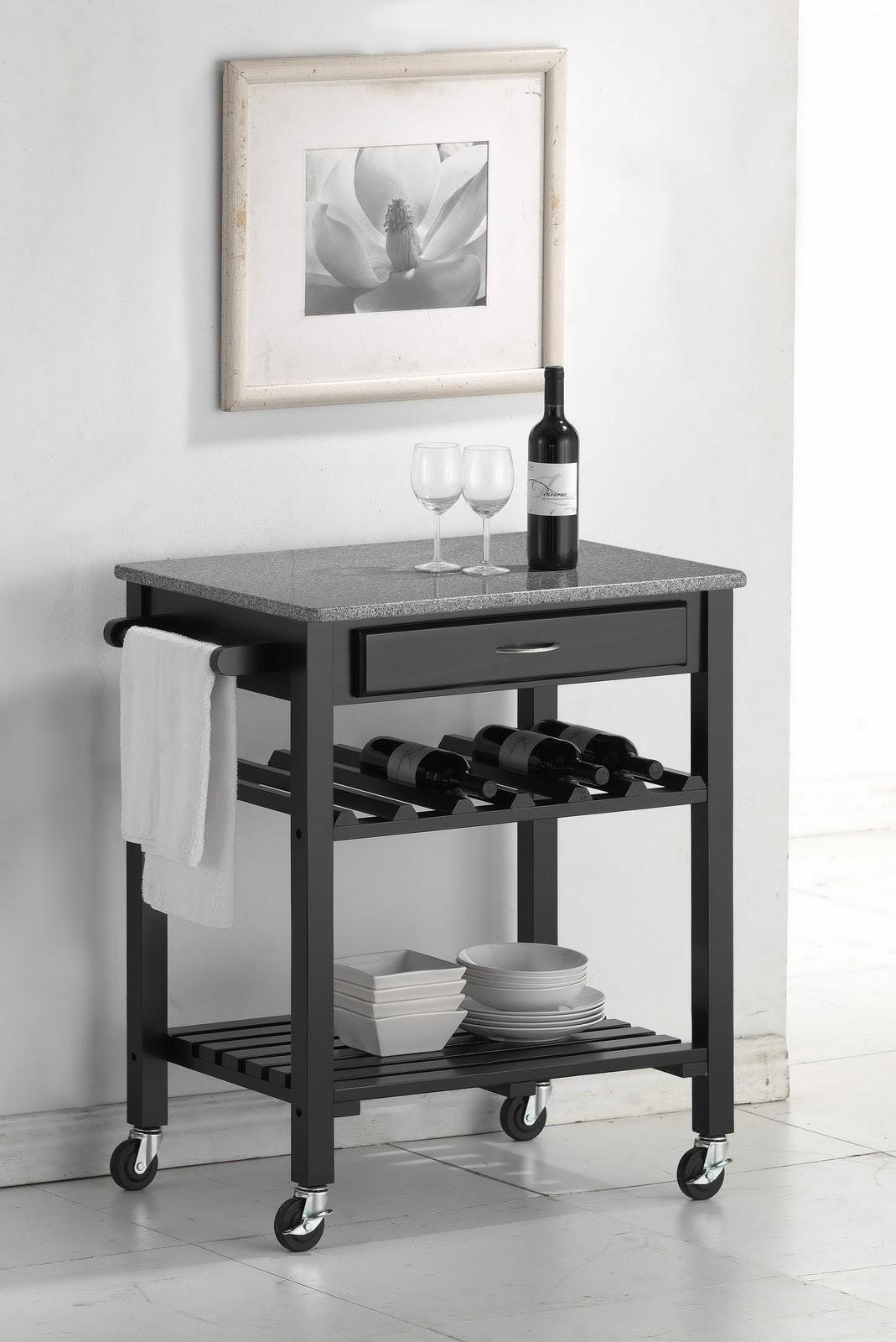 Pub Table With Wine Rack