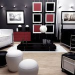 Red Black And White Home Decor