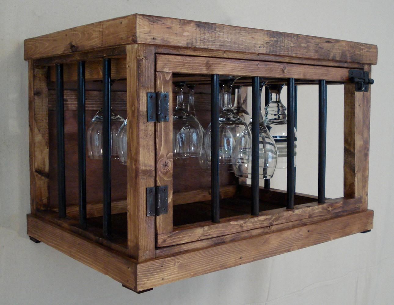 Rustic Wine Glasses