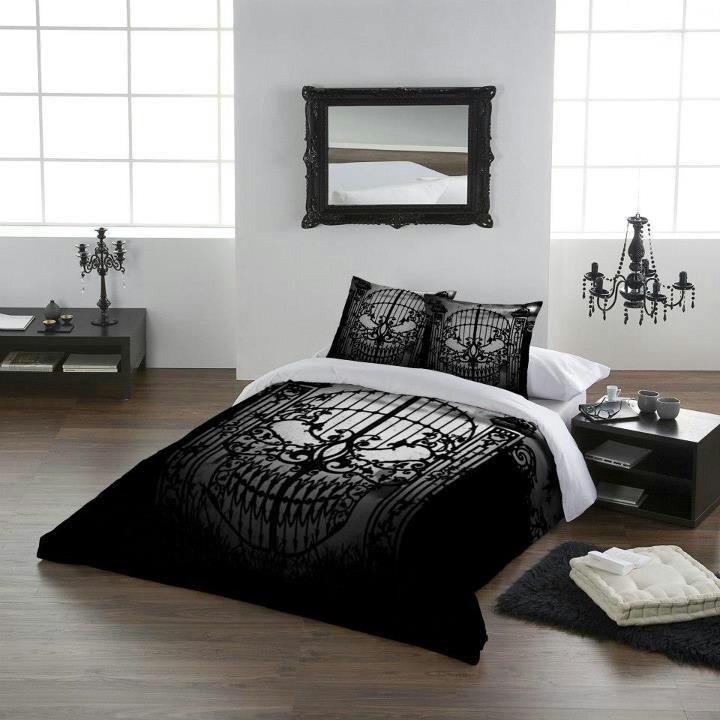 Skull bedroom decor