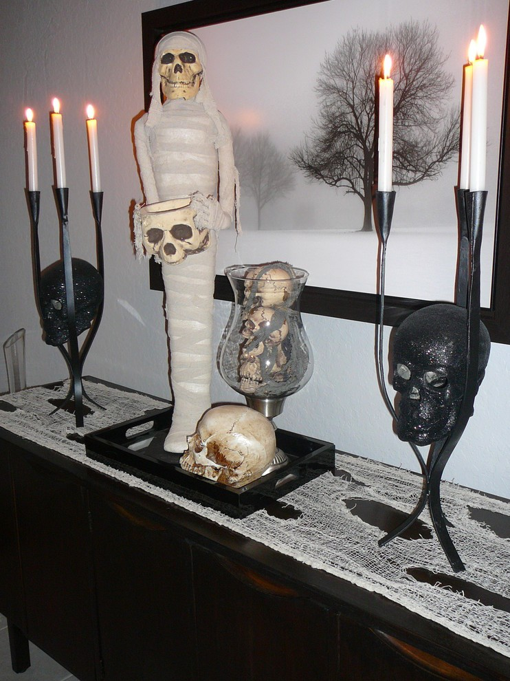 Skull room decor