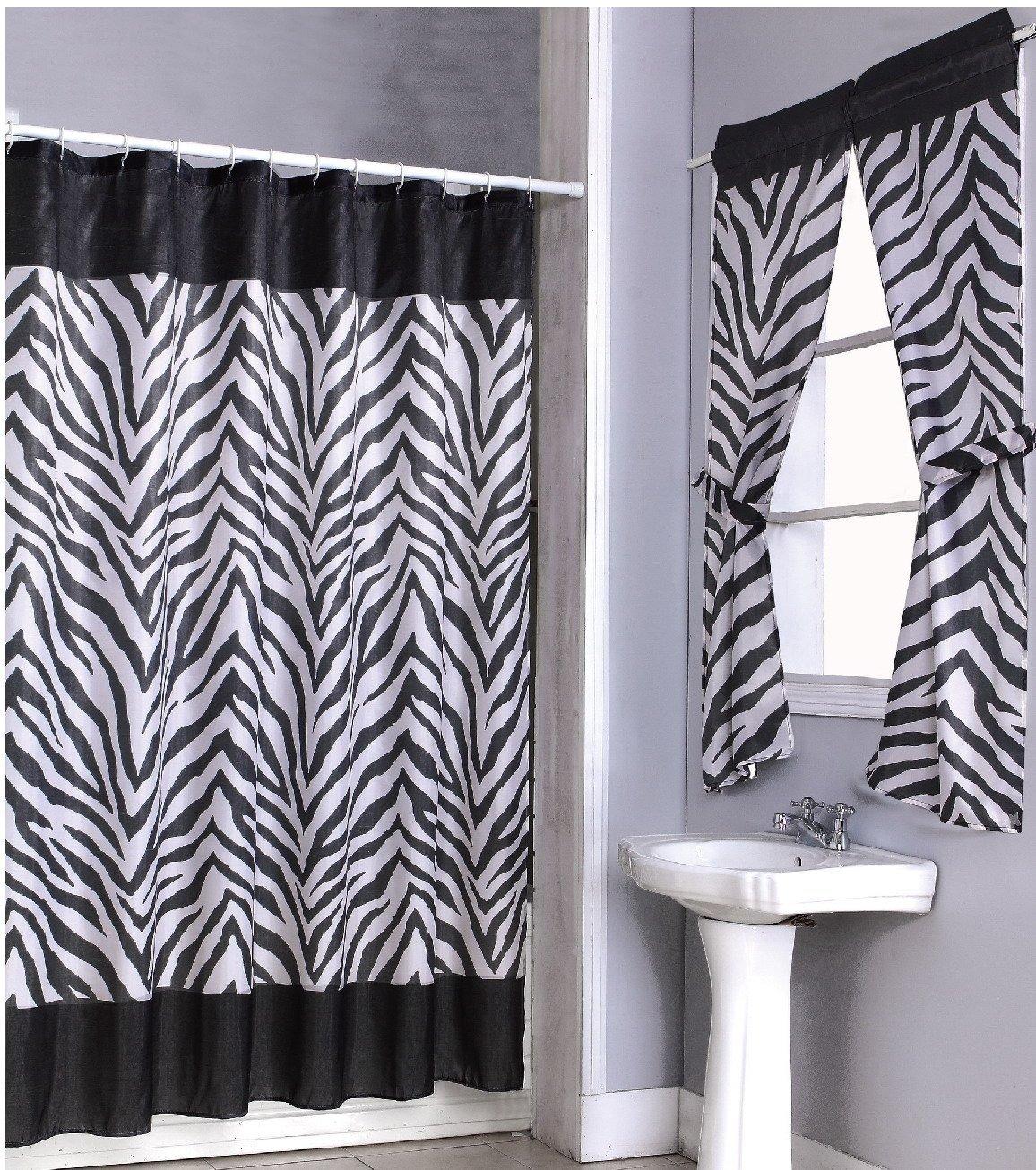Small Bathroom Window Curtain Ideas