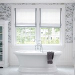 Small Bathroom Window Curtains