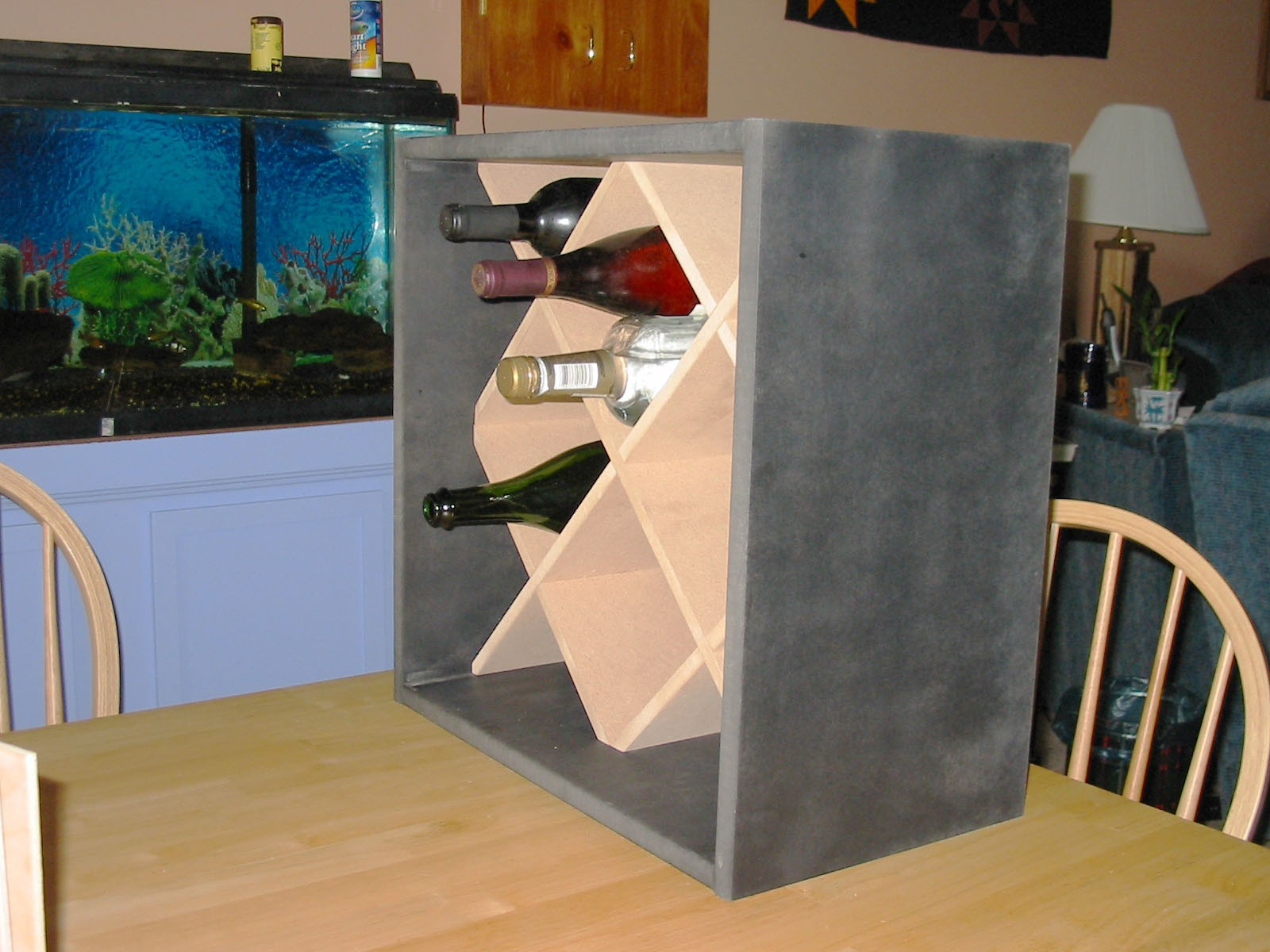 Small Wine Cabinet Wood