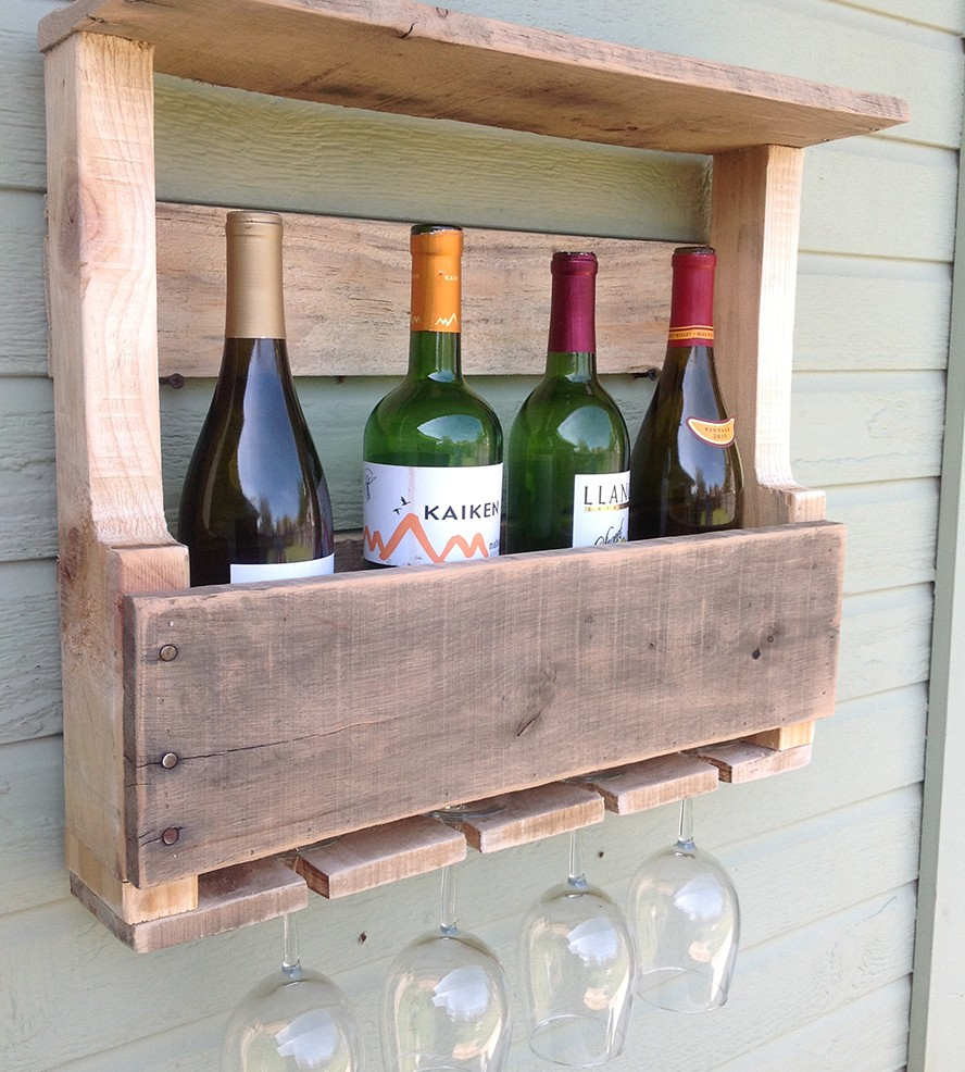 Small Wine Rack For Shelf