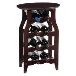Small Wine Rack Table
