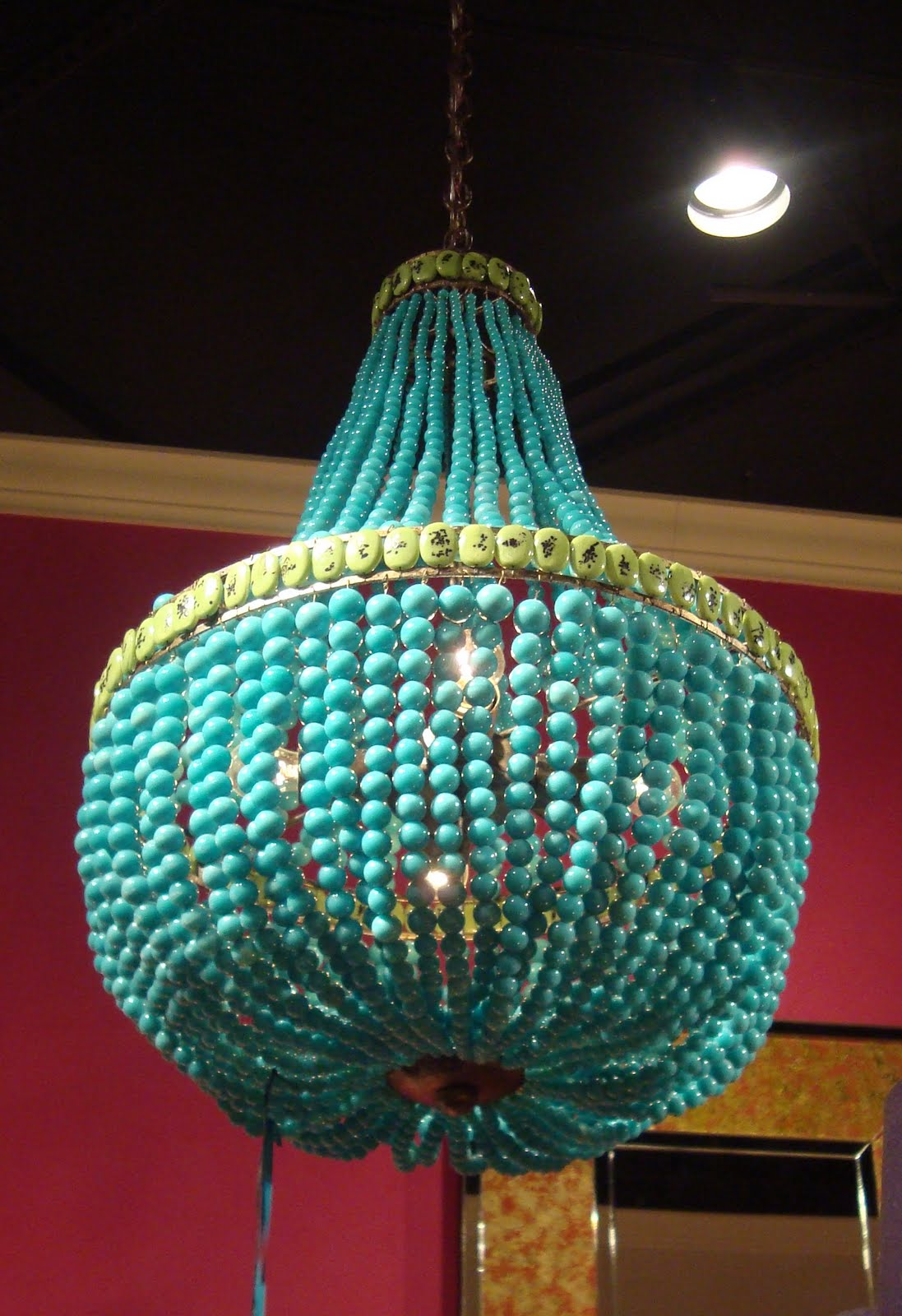 Turquoise lamps home decor