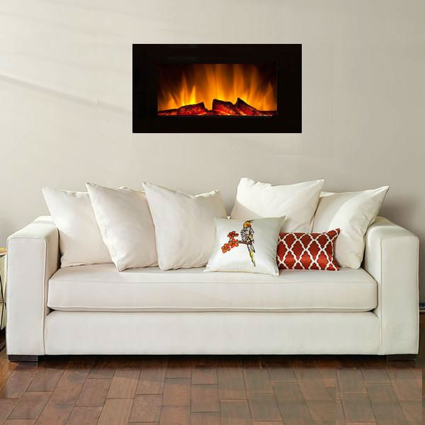 Advantages of a Wall Mounted Electric Fireplace