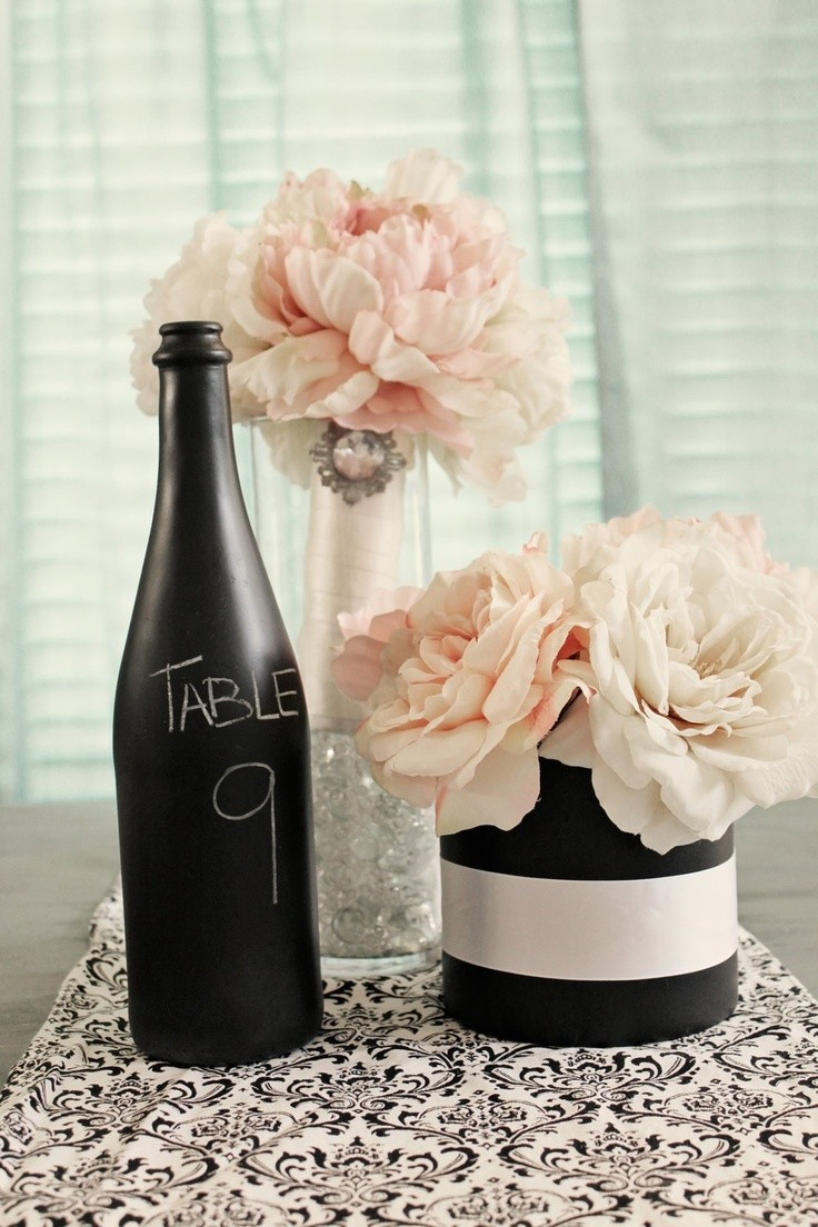 Wedding Wine Bottle Decorations