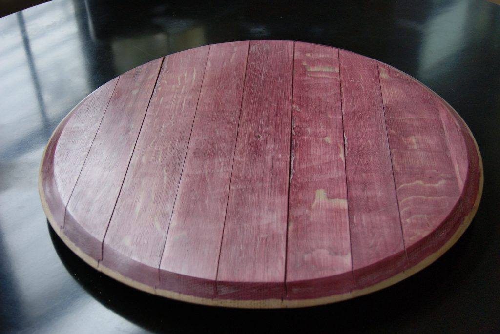 Great Ideas For A Wine Barrel Lazy Susan A Creative Mom