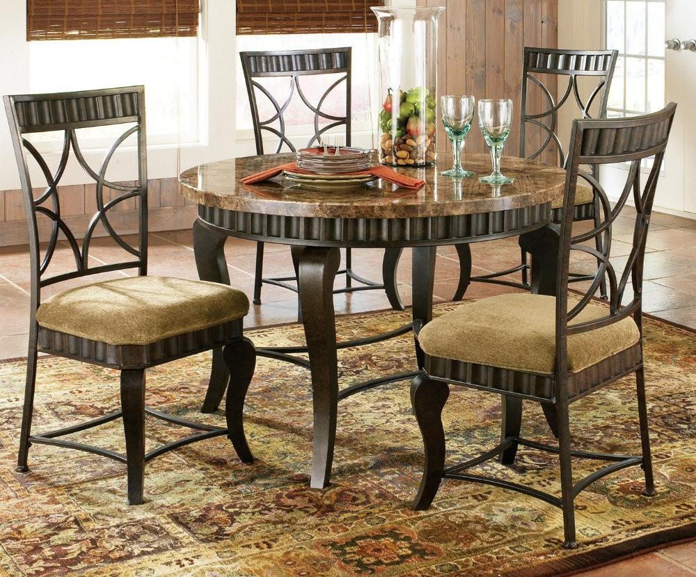 White dining room set