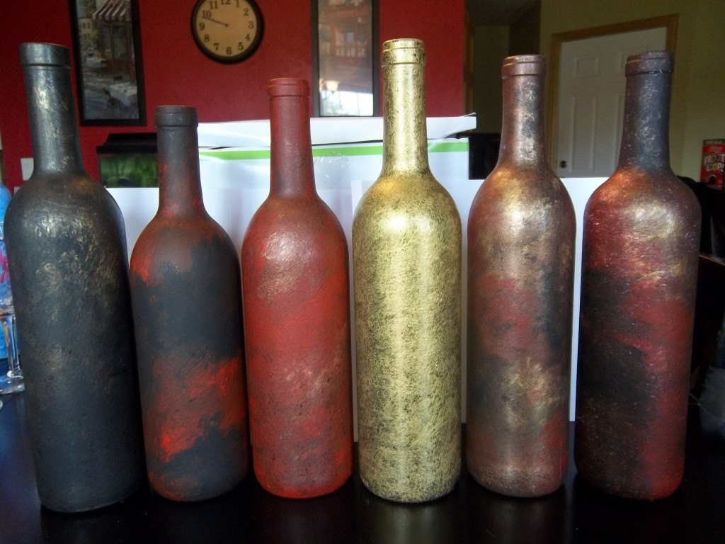 Wine Bottle Centerpieces Ideas